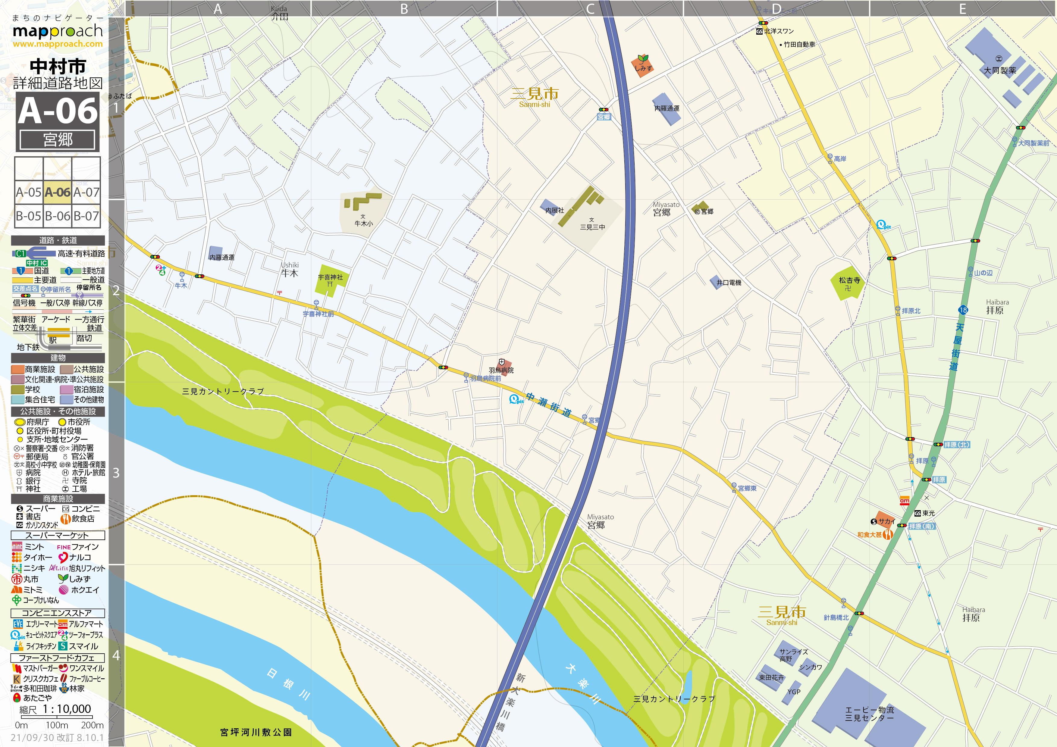 A-06 宮郷 地図拡大